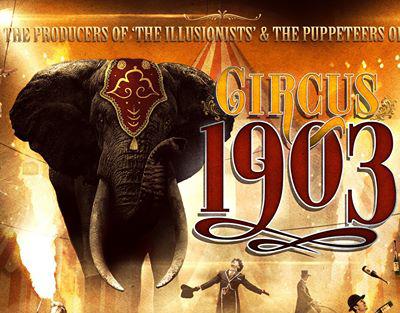 circus 1903 banner